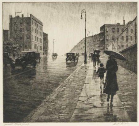 Martin Lewis-Rainy Day, Queens-1931