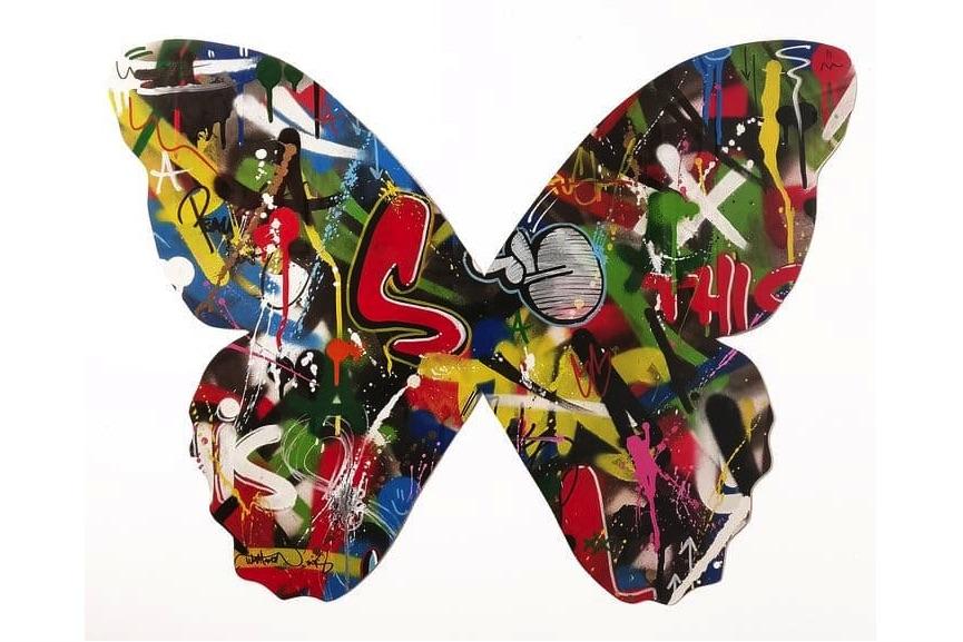 Martin Whatson - Butterfly cutout. NextStreet