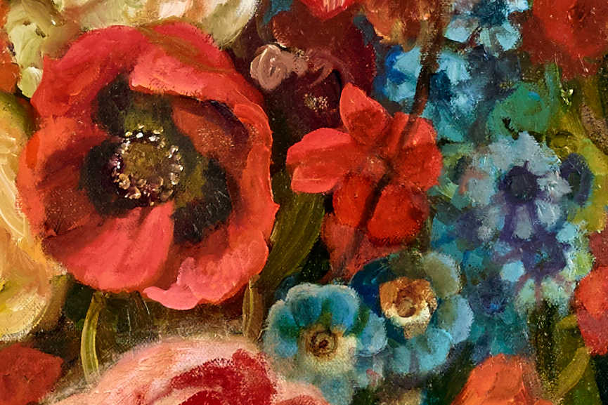 Martin Wittfooth - Bloom, detail
