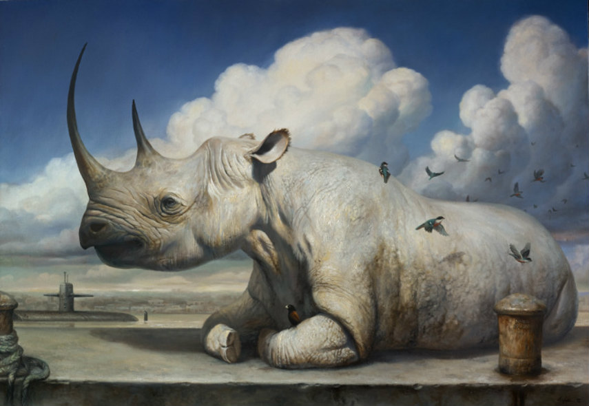 Martin Wittfooth - Untitled, 2014