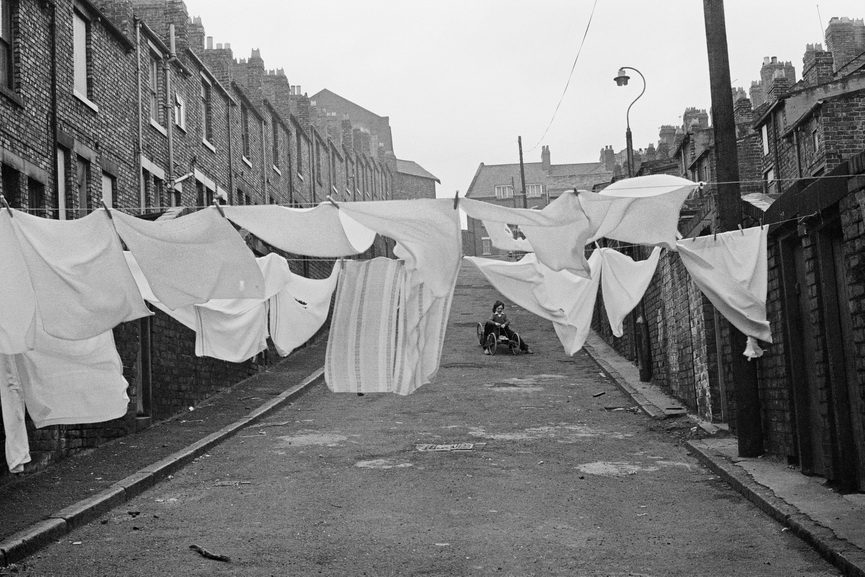 Martine Franck - Quartier de Byker, Newcastle upon Tyne, Royaume-Uni