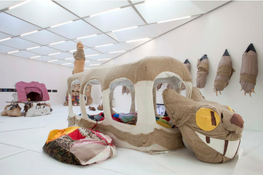 The artist was nominated for turner prize in 2012