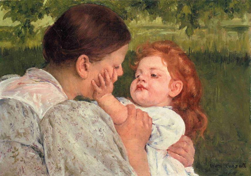Mary Cassatt - Maternal Caress