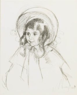 Mary Cassatt-Sara Wearing Her Bonnet And Coat-1904