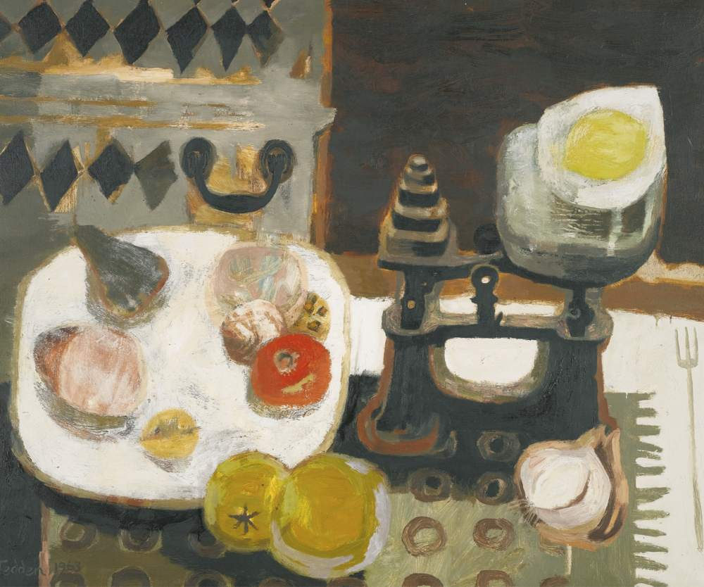Mary Fedden-Scales-1963