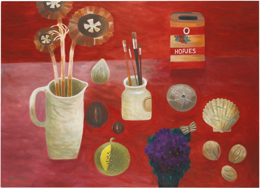 Mary Fedden-The Hopjes Tin-2002