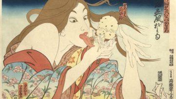 Masami Teraoka - 31 Flavors Invading Japan, 1982