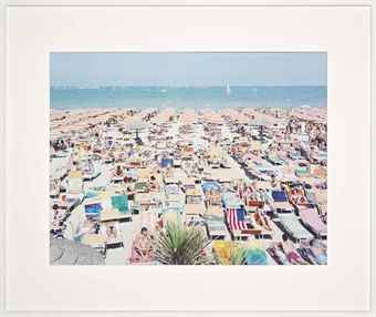 Massimo Vitali-Papeete Beach Regatta, from A Portfolio of Landscapes and Figures-2006