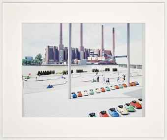 Massimo Vitali-VW Lernpark, from A Portfolio of Landscapes and Figures-2006