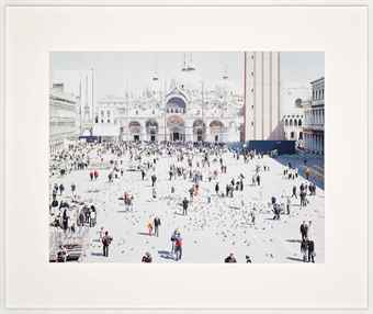 Massimo Vitali-Venezia San Marco, from A Portfolio of Landscapes and Figures-2006