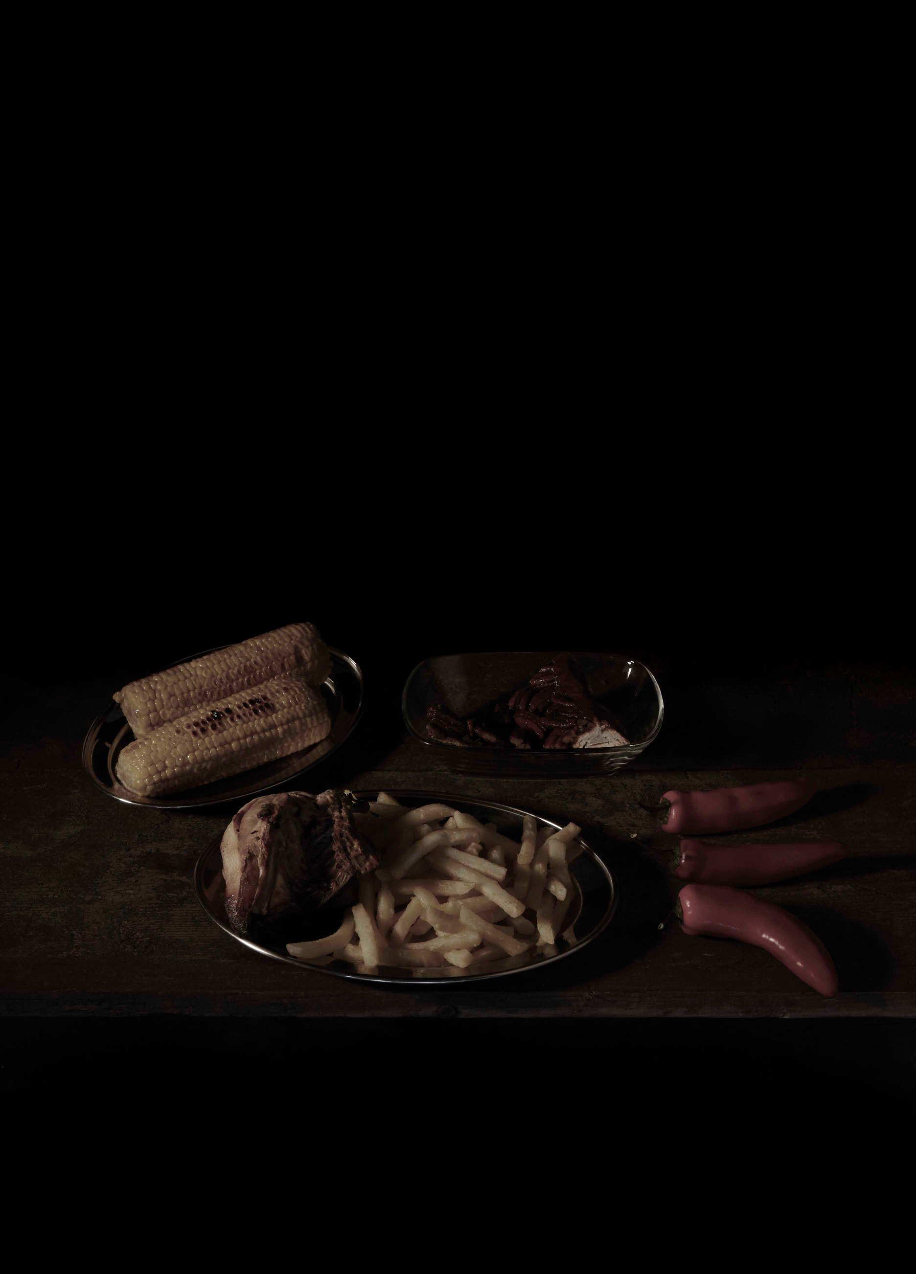Mat Collishaw-Last Meal on Death Row, Texas (Rudy Esquivel)-2011