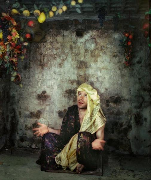 Mat Collishaw-Self Portrait-1997