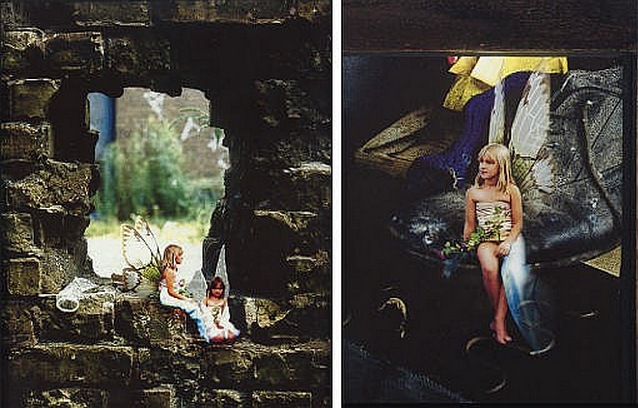 Mat Collishaw-Sugar and Spice, All Things Nice, This Is What Little Girls Are Made Of No.5 & No.2-1998