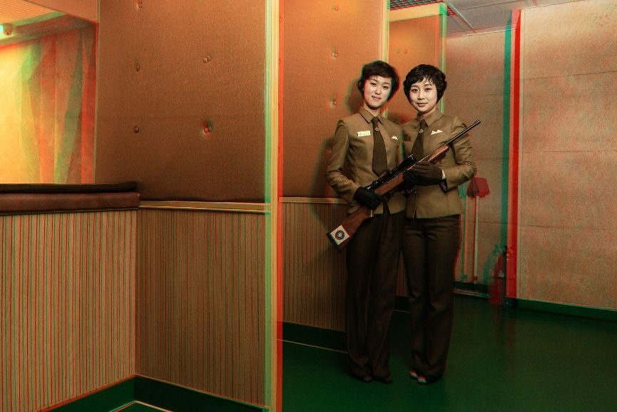 portraits North Korea women popular leaders