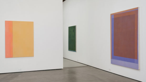 Matt Connors - Connors' artworks at Cherry and Martin - Image via contemporaryartdaily