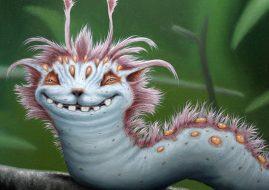 Matt Dangler - Shiftypillar, detail