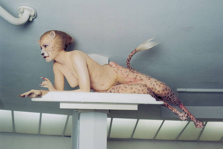 Matthew Barney related 2005 film was shown at norman home gallery and museum