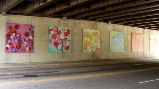 Matthew Best - Crystal City Art Wall, Supernature, 2006