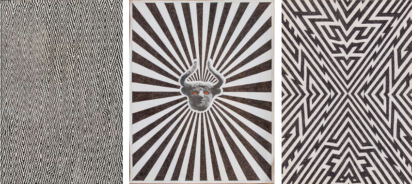 Matthew Craven - Bleed (left) - Burst (center) - Expansion (right)