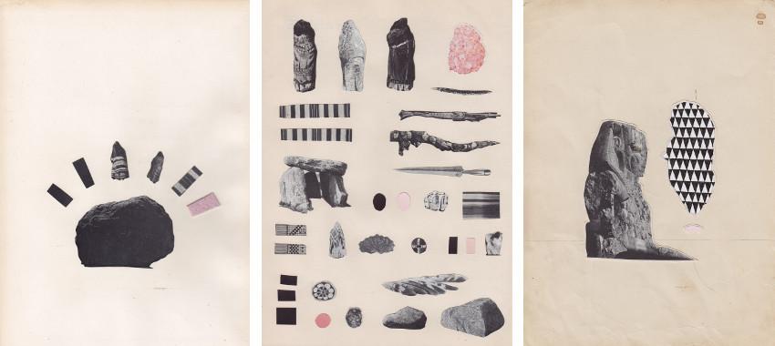 Matthew Craven - Source (left) - Fragments (center) - Speak (right)