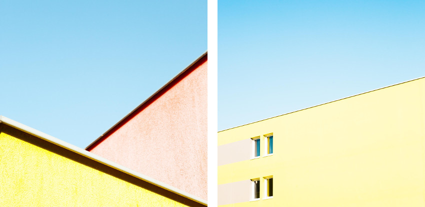 Matthieu Venot - Untitled 4, Prism series, 2014 (Left) / Untitled IV, Aint Got No Troubles series, 2015 (Right)