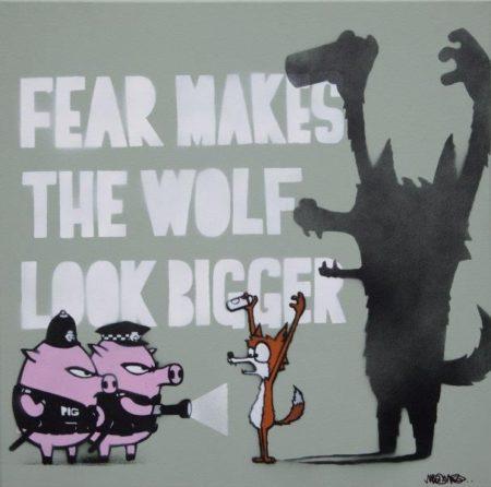 Mau Mau-Fear Makes The Wolf Look Bigger-2015