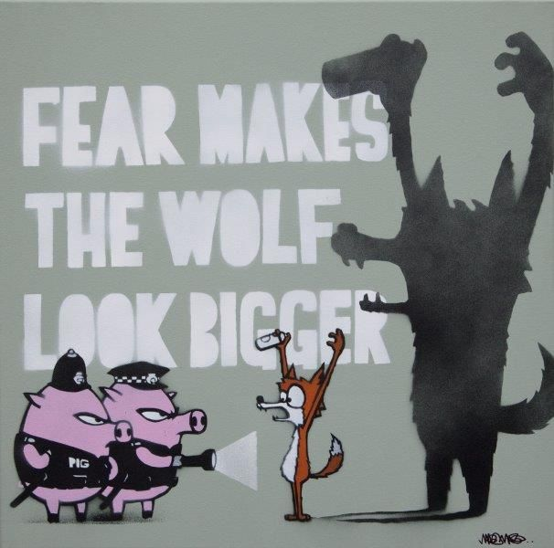 Mau Mau-Fear Makes The Wolf Look Bigger-2015