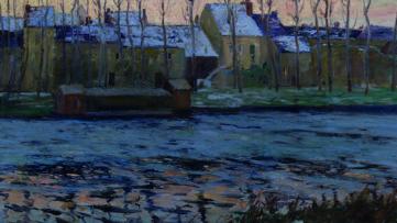 Maurice Cullen – Moret, Winter, 1895