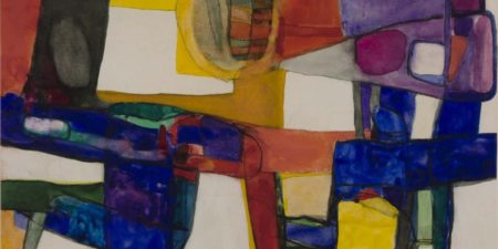 Maurice Estuve - Composition 166 (Detail), 1957 - Image Copyright Tate Gallery