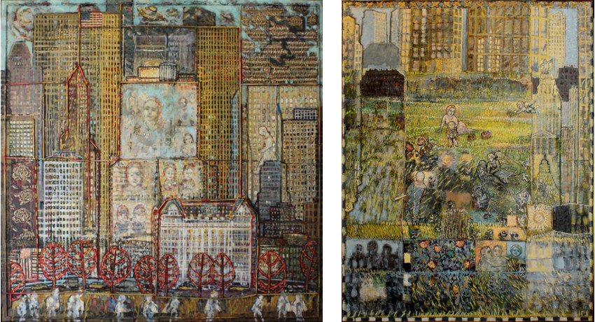 M.Fanciello - Plazza Hotel, 2011 (Left) / Central Park - 2011 (Right)