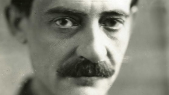 Maurice Utrillo portrait, 1930, photo by Henri MARTINIE