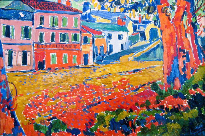Maurice de Vlaminck and his bridge - information from his birth in 1876
