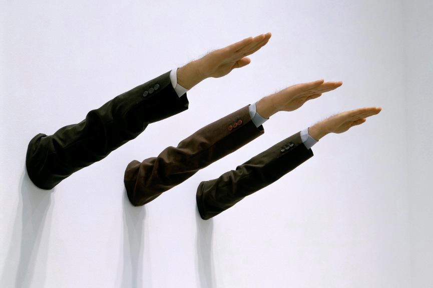 Maurizio Cattelan - Ave Maria, 2007 - Image via art21org