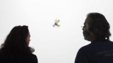 Maurizio Cattelan - Comedian, 2019 at the 2019 Art Basel Miami Beach