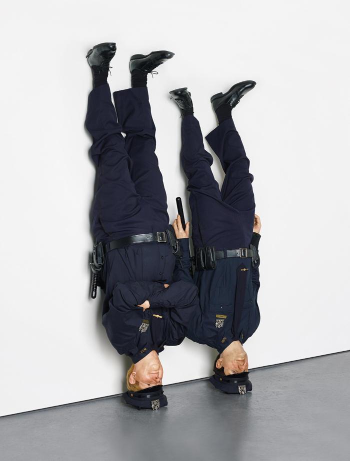 Maurizio Cattelan-Frank and Jamie-2002