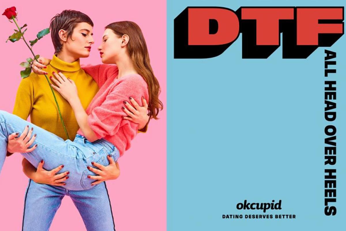 Maurizio Cattelan Pierpaolo Ferrari - OkCupid Ad DTF