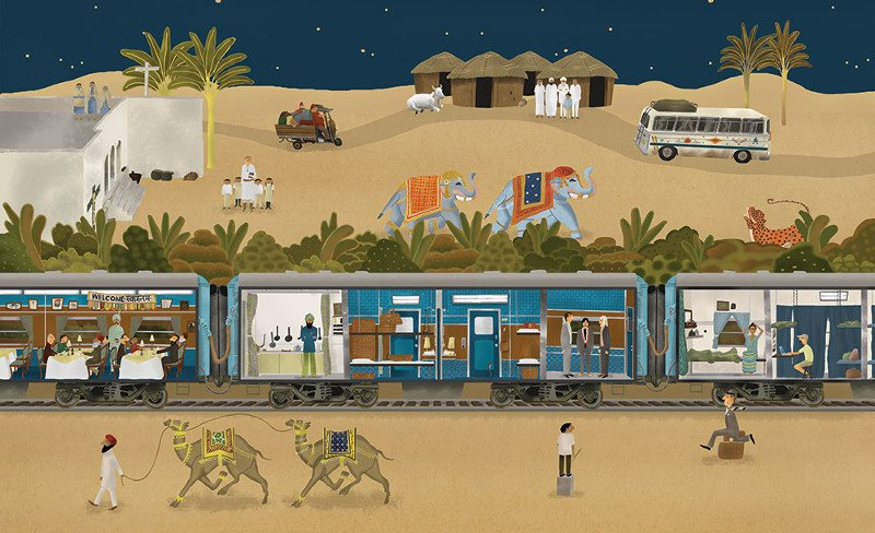 Max Dalton - Darjeeling Limited - The Wes Anderson Collection, 2013