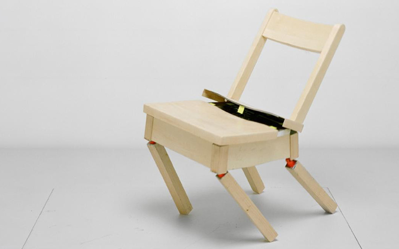 Max Dean - Robotic Chair, 1984