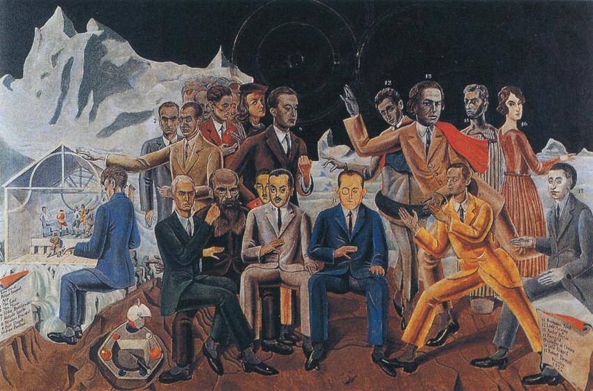 Max Ernst - A Friends Reunion (Au Rendez-vous des amis), modern
