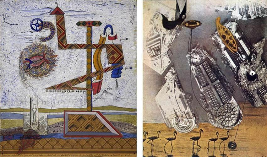 Ernst - Katharina Ondulata, Cormorannt collage tate