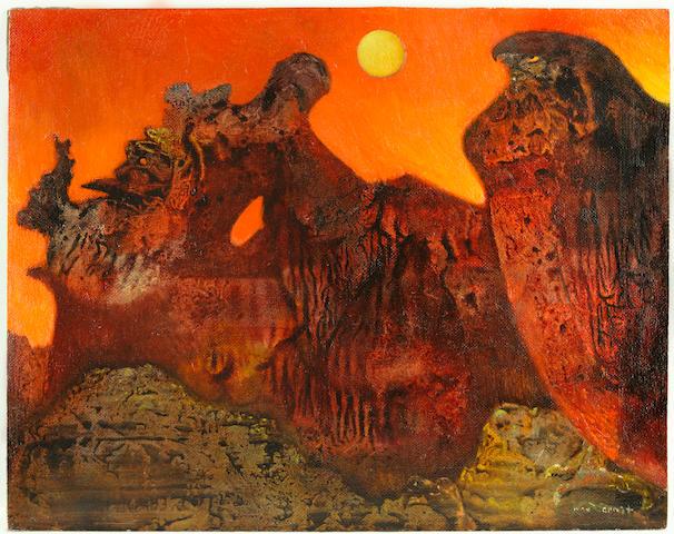Max Ernst - Ohne Titel (Sedona Landschaft), 1957