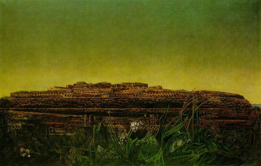 Max Ernst - The Entire City, 1935 tate terms