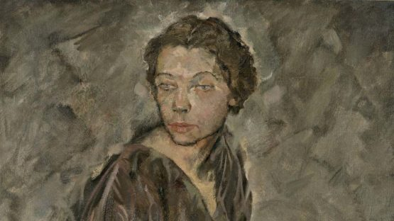 Max Oppenheimer - Portrait of Tilla Durieux, detail