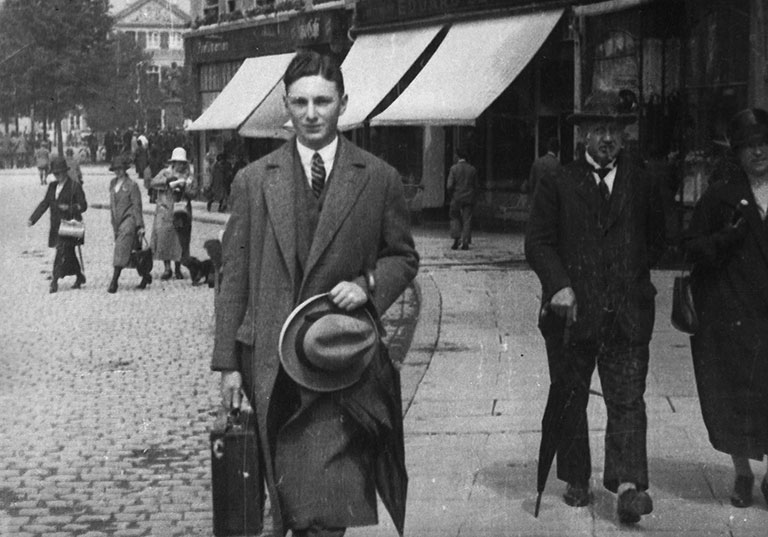 Max Stern in Germany, c. 1925; search for more information about restitution claims