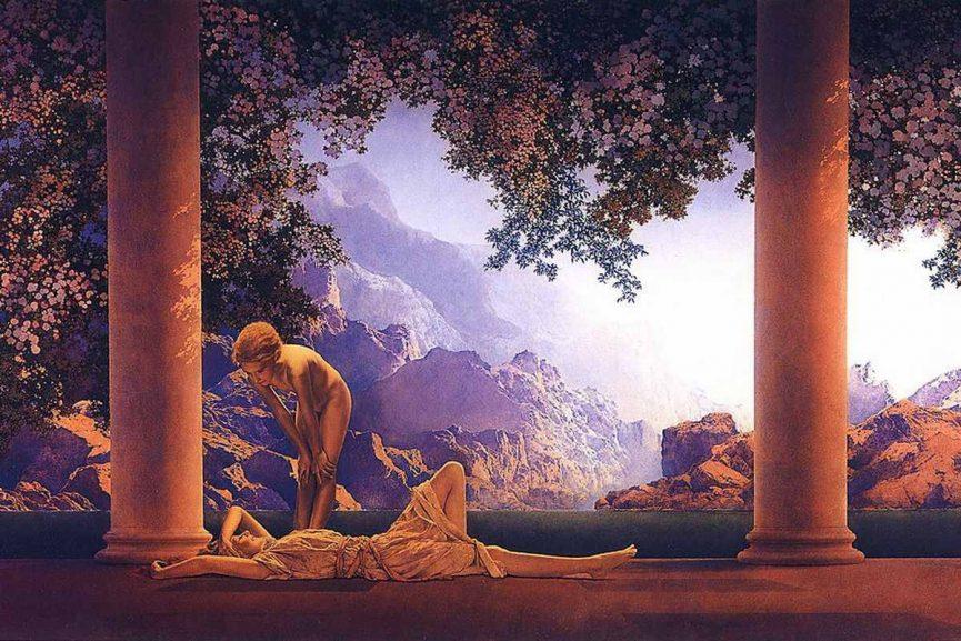 Maxfield Parrish - Daybreak