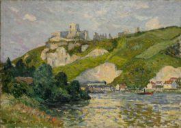 Maxime Maufra-Le Chateau-Gaillard, Apres-Midi-1903