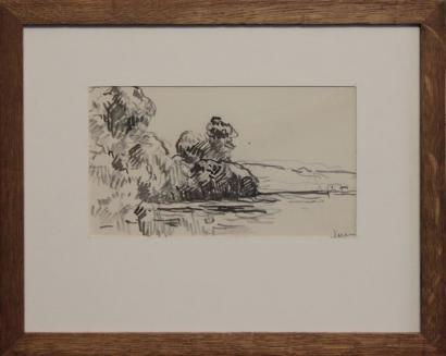 Maximilien Luce-Bord de Seine-