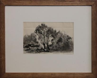 Maximilien Luce-Paysage, Rolleboise-1919