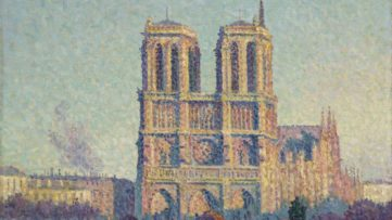Maximilien Luce - The Quai Saint-Michel and Notre-Dame (detail), 1901 from arts history