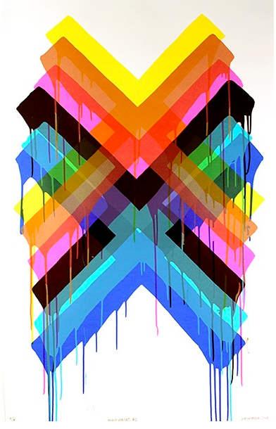 Maya Hayuk-Multiverses #2-2014